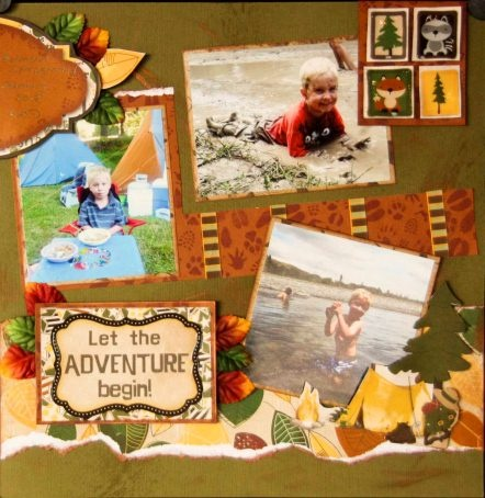 Jana's page created from the Camp-A-Lot Collection.