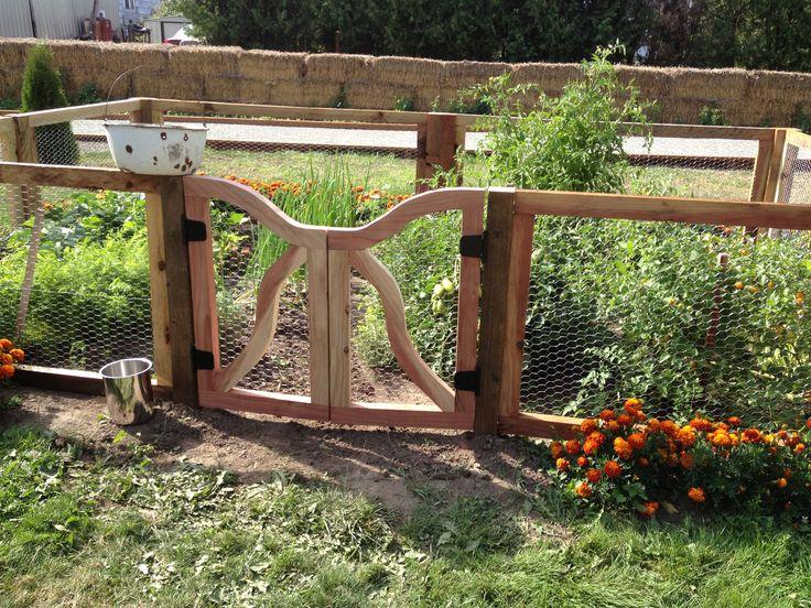 Rustic Garden Gate And Fence Gates Pinterest Garden
