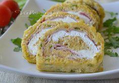 Polpettone freddo di pane e zucchine farcito senza cottura facile e veloce,un piatto freddo estivo che non si cuoce, secondo piatto freddo, farcito e goloso