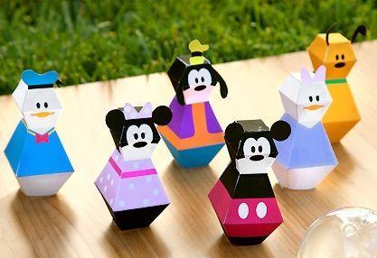 Com estes moldes 3D da turma do Mickey para imprimir que estamos disponibilizando vai ficar muito mais fácil você entreter os seus pequenos.