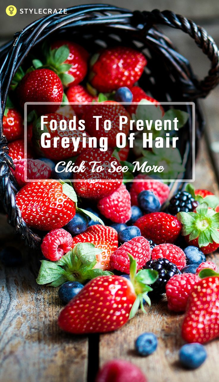 The appearance of first grey hair makes way for the question 'am I getting old?' Given here are the 6 foods to prevent grey hair for you to check out & add to your diet