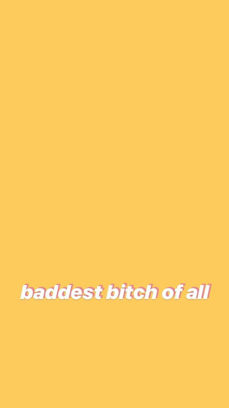Yup Wallpaper Iphone Quotes Yellow Aesthetic Pastel Cute Home Screen Wallpaper