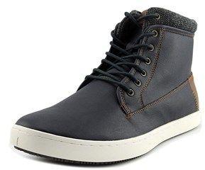 Aldo Tripper Men Round Toe Leather Blue Ankle Boot.