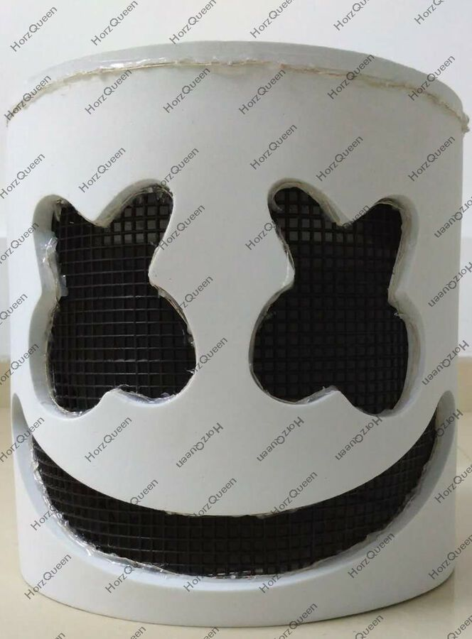 MarshMello DJ Mask Hot Cosplay Music Party LED Flash Full Head Helmet Christmas