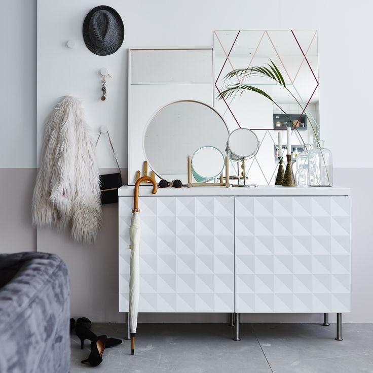 HERRESTAD deur | #IKEA #IKEAnl #kast #kastje #schaduw #dynamisch