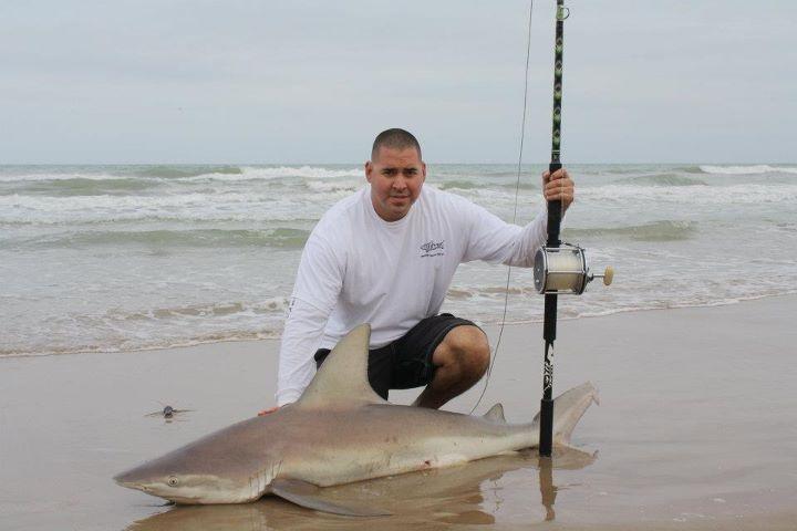 Nice shark caught on texas coast saltwater fishing for Shark fishing texas