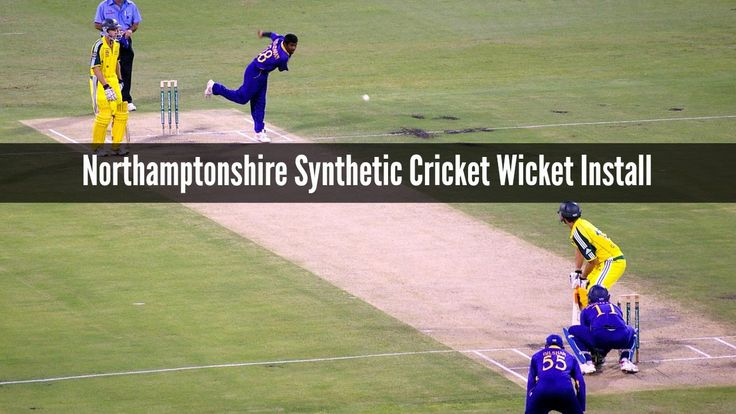 Northamptonshire Synthetic Cricket Wicket Install