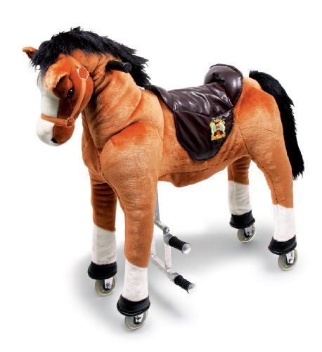 [+1] Childrens Play Horse in Brown