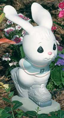 Lovely Precious Moments Skating Bunny Garden Statuary By Precious Moments. $19.99.  Statue Is Made Of Durable, Weather Resistant Poly Vinyl And Are Cement U2026