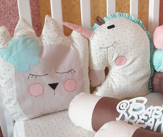 unicorn pillow unicorn nursery decor