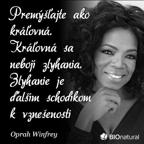 Citát od Oprah