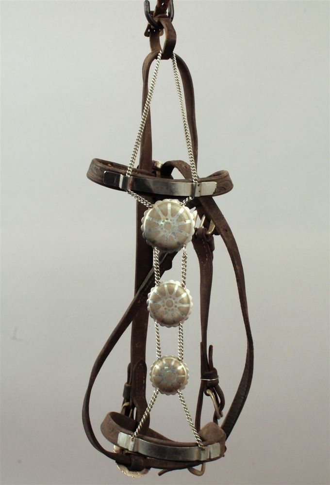 This is a handsome antique leather horse halter crafted by the Keyston Brothers of San Francisco around the turn of the century. In 1872, James was joined by his brother William D. and they expanded to include buggy whips into their repertoire. | eBay!
