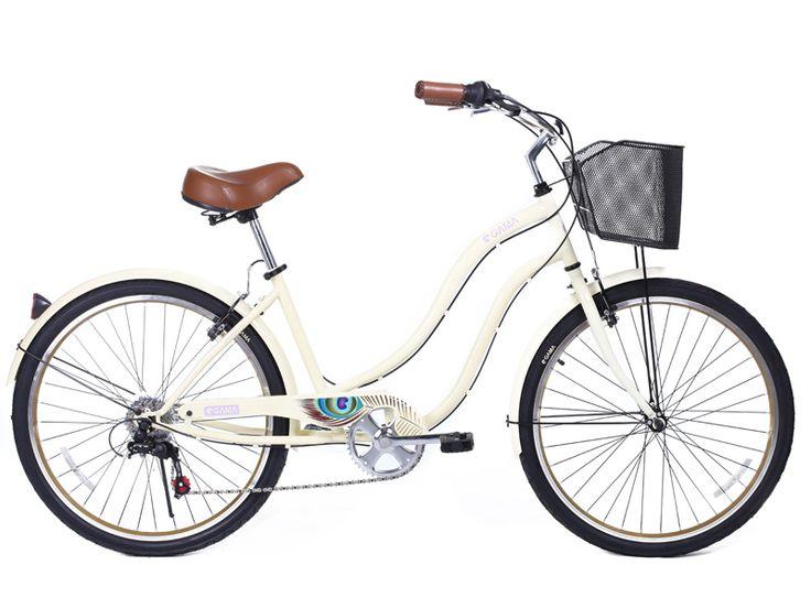Classic Mujer/Crema parte de nuestra #nuevatemporadagama disponible desde el 12 de octubre en nuestro sitio gamabikes.com. #gamabikes #bici