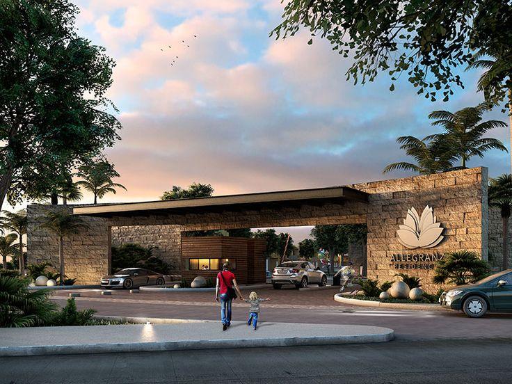 Casas Allegranza - Nueva comunidad dentro de Playa del Carmen que se conforma de 180 casas (4 modelos) de diferentes dimensiones de las cuales se ajustan a sus necesidades desde 180 a 200 M2 de terreno. Este es un residencial pensado para todos los integrantes de la familia.  Las casas cuentan con 3 recamaras y con excelentes acabos.