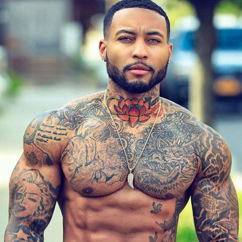 101 Best Chest Tattoos For Men Cool Ideas + Designs (2019