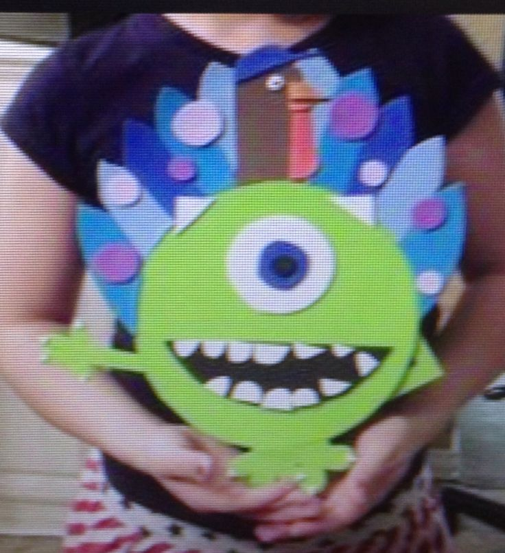 monsters inc craft ideas disguise a turkey mike wazowski monsters inc kid crafts 4988