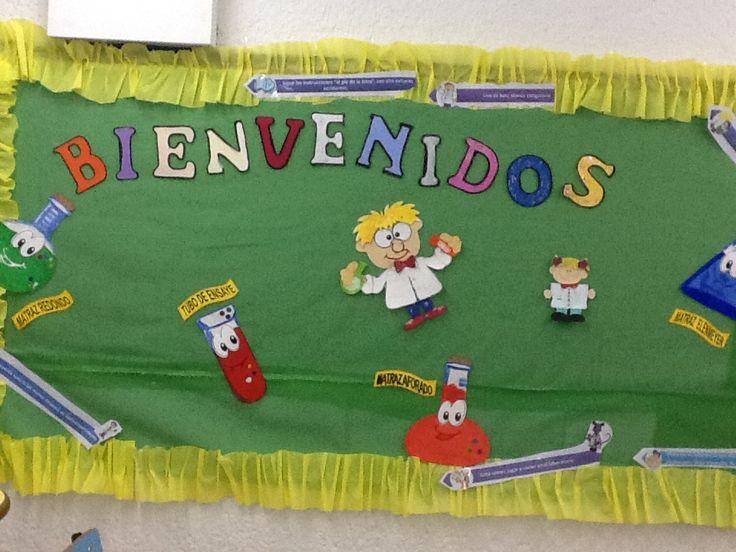 Peri dico mural bienvenidos al mundo m gico de las for Diario mural escolar