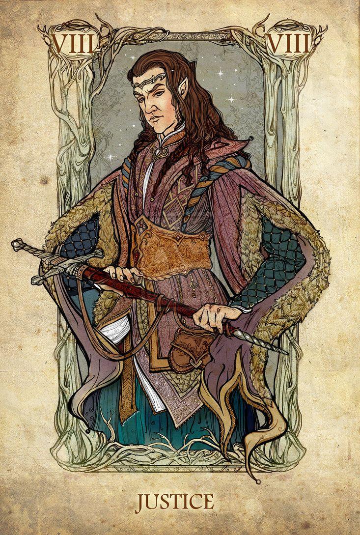 Jouer au tarot avec les personnages du Seigneur des Anneaux - NerdPix