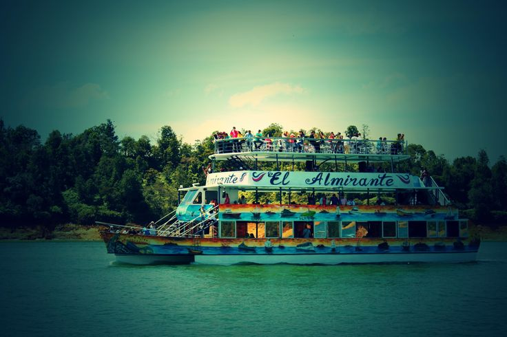 Guatape Ferry -Colombia