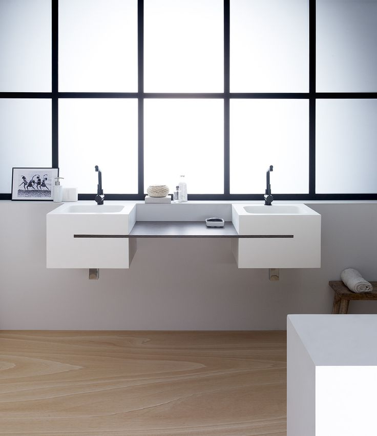 Calabria, de Solid Surface, Natural Series by Bathco. Ref 6012, medidas 1520x450x300 mm