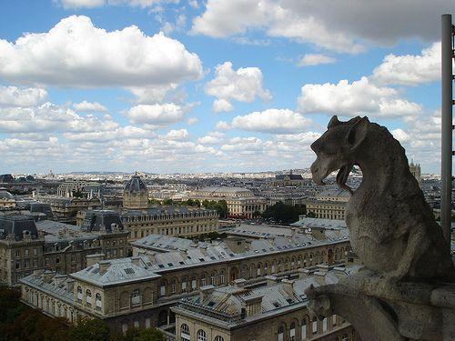 Gargoyles @ Notre Dame | #Parigi #TRAVELSTALES