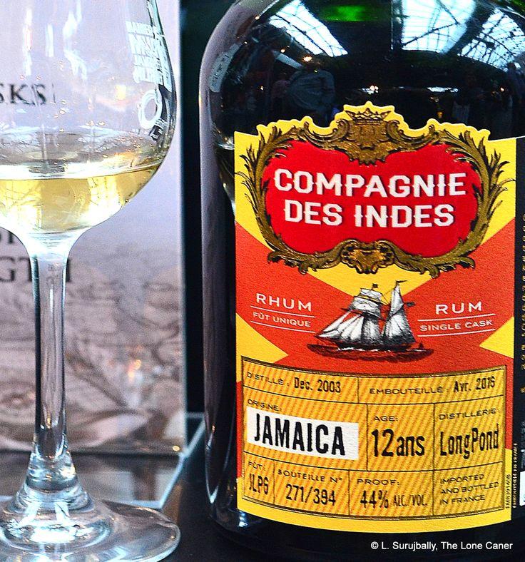 Compagnie des Indes Jamaica 2003 12 YO Rum Review Rum