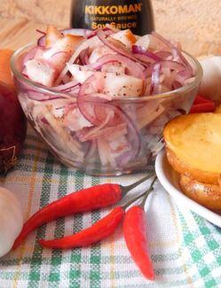 Салат из сала с луком https://www.go-cook.ru/salat-iz-sala-s-lukom/  Находка отечественной кухни — салат всего из пары ингредиентов, плюс самые простые приправы и специи (уксус, черный перец). Подойдёт тем, кто хочет не самым дорогим способом получить из обычного необычное. Да и времени много не нужно Рецепт салата из сала с луком Время подготовки: 5 минут Время приготовления: 10 минут Общее время: 15 минут Кухня: … Читать далее Салат из сала с луком