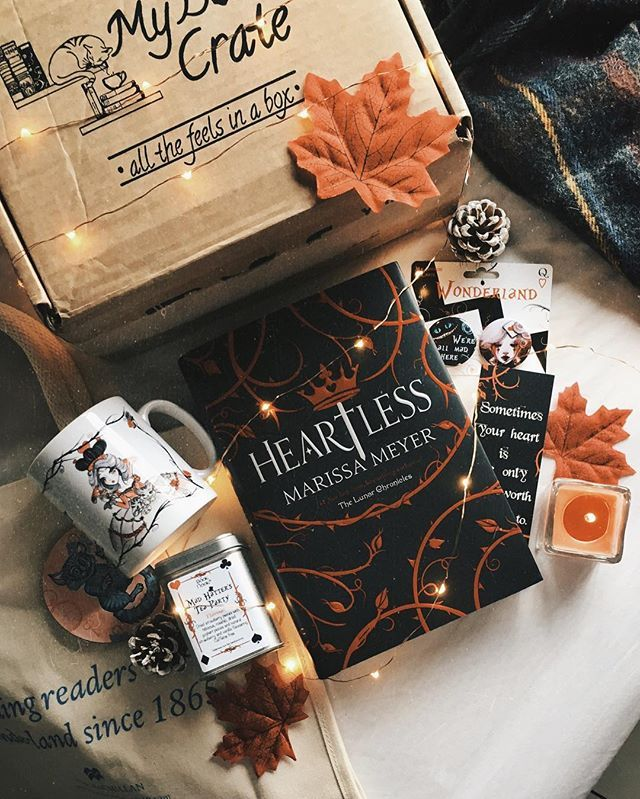 I have a @mybookishcrate unboxing to share today— here's what was in November's Wonderland box: .  queen of hearts mug, designed by @tjlubrano .  cheshire cat coaster, designed by Liza @bookotter .  the best smelling strawberry & cream tea from @bookandnookshop .  alice in wonderland tote bag from @panmacmillan .  two wonderland themed badges and heartless bookmark exclusively created by @mybookishcrate .  and the book this month is Heartless by Marissa Meyer!! I'm so excited to f...