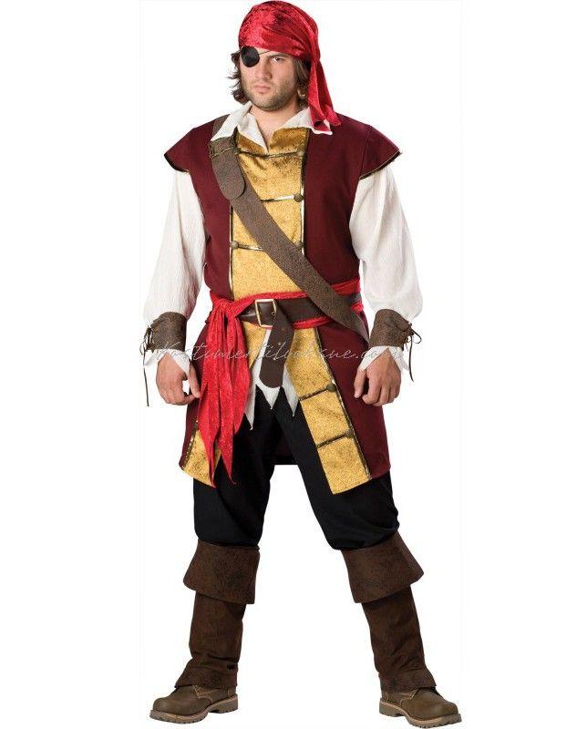 Swashbuckler Pirat Kostumer Til Sidste Skoledag