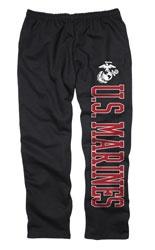 US Marine Corps Black Couch Island Sweatpants $27.99 http://www.fansedge.com/US-Marine-Corps-Black-Couch-Island-Sweatpants-_-1981474291_PD.html?social=pinterest_pfid52-95814