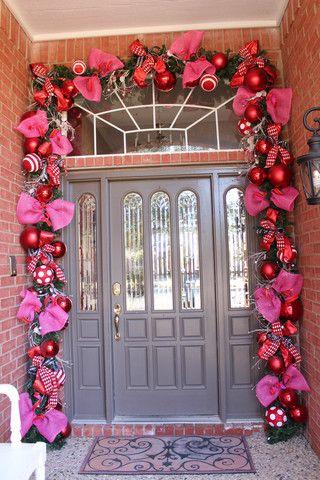 valentine doorway how to valentine decorationsvalentines day decor outdoorvalentines - Valentine Outdoor Decorations