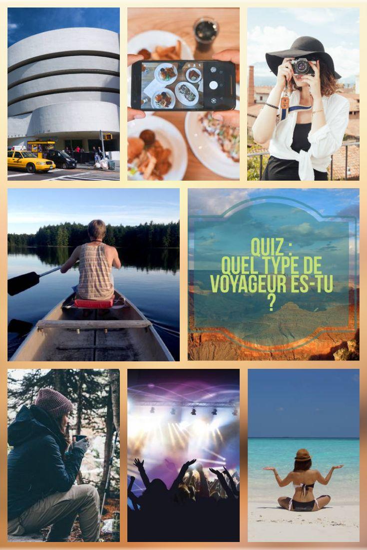 Quiz : Quel type de voyageur es-tu ? Passe le test et découvre si tu es plus un voyageur accro à la culture, à l'aventure, aux listes de choses à faire, à la nature, à la plage, à la fête ou à la gastronomie ! Alors, sais-tu la vraie raison pour laquelle tu voyages ???   Passe le test ici : http://www.passionamerique.com/quiz-type-voyageur-usa/
