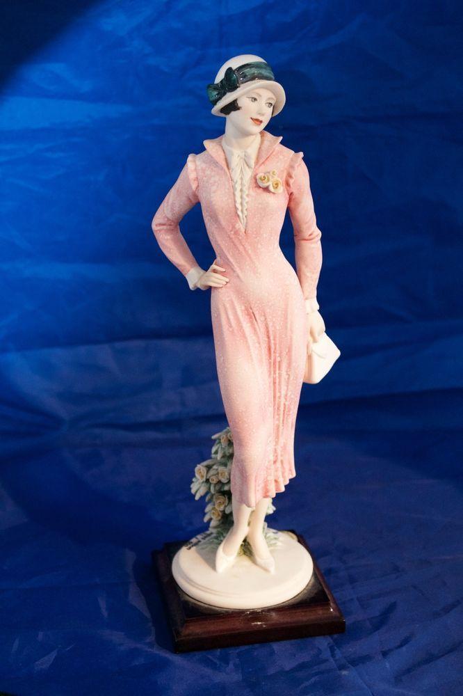 Capodimonte Italy Giuseppe Armani Rare LTD ED  Figurine 1999 Florence Signed #ArtDeco #Figurines