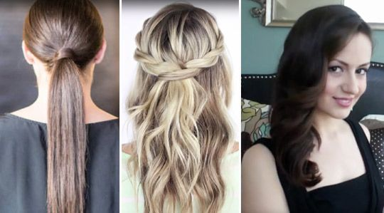 Frisyrer till fest behöver inte vara svårt. Här är 5 festfina frisyrer som du fixar på nolltid. Video.
