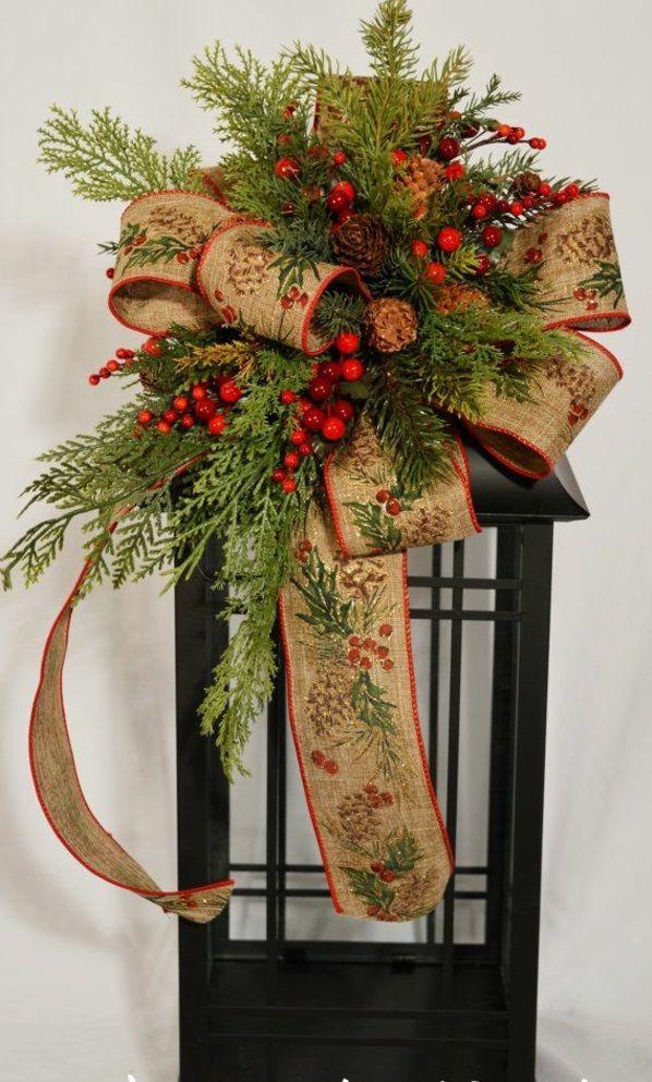 braun adventsgestecke bilder weihnachten blumen