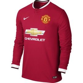 Manchester United Kids (Boys Youth) L/S Home Jersey 2014 – 2015
