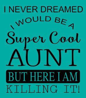 Short Sleeve Super Cool Aunt Tee
