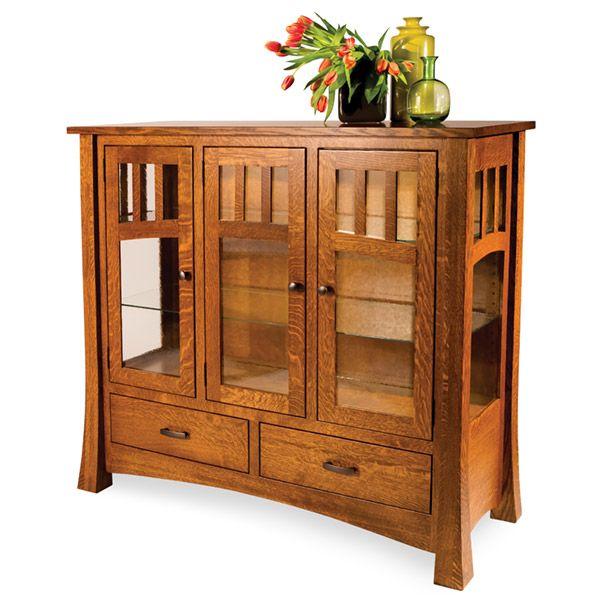Amish Alameda High Buffet | Amish Furniture | Shipshewana Furniture Co.