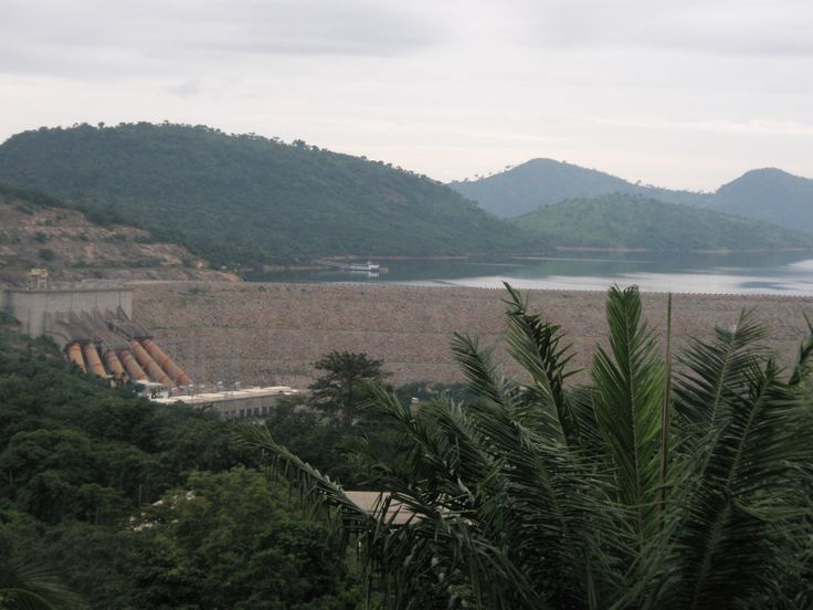 Visit the Akosombo Dam and the world's second-largest artificial lake