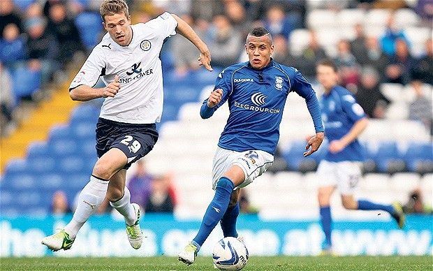 Marko Futacs and Ravel Morrison - Birmingham City midfielder Ravel Morrison shines in draw against Leicester City at St Andrew's
