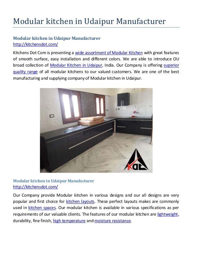 91 mejores imágenes de Modular Kitchen in Udaipur en Pinterest