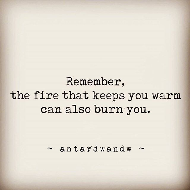 But sometimes getting burnt seems like a better option than staying so far away from the fire that is love...