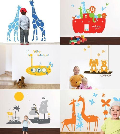 30 best vinilos decorativos infantiles images on pinterest for Vinilos decorativos infantiles