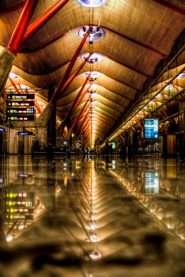 Madrid Barajas Airport.