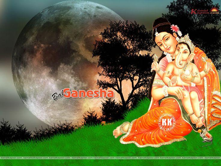 Baby Ganesh Wallpapers, Baby Ganpati Bappa wallpaper, Lord Baby