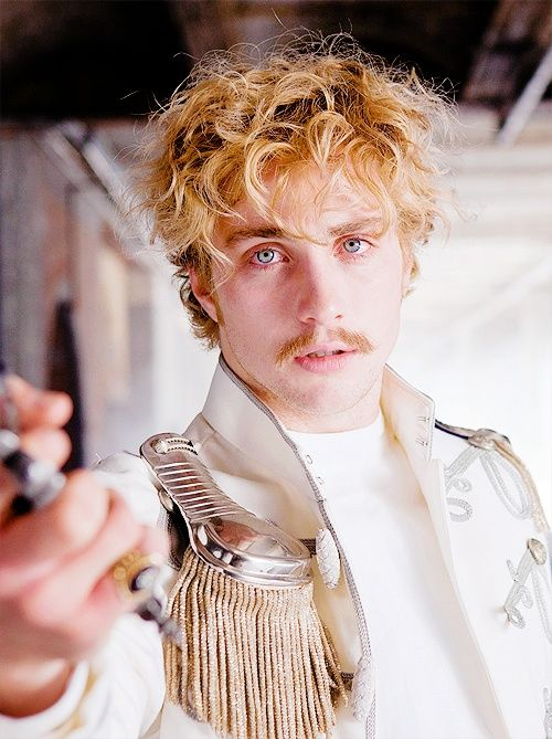 Fell in love with this guy after watching Anna Karenina.