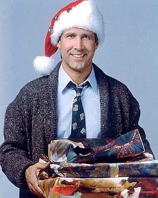 Clark Griswold...My families Favorite Christmas movie!!