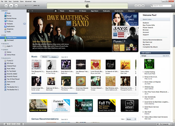 iTunes 9 - The Evolution of iTunes   2001 to 2010