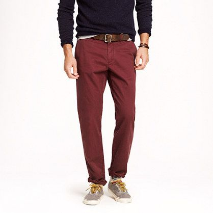 More interested in the color than the fit.  Like the color. Broken-in chino in urban slim fit