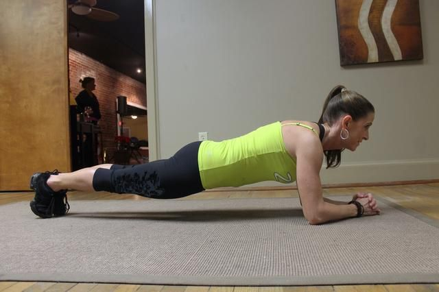 What Does the Plank Exercise Benefit? | LIVESTRONG.COM